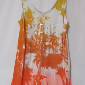 Express Tank Top  (Escape Into My Arms)Size S